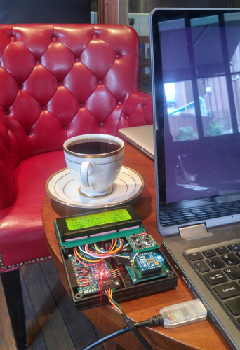 Coffee and firmware uploads