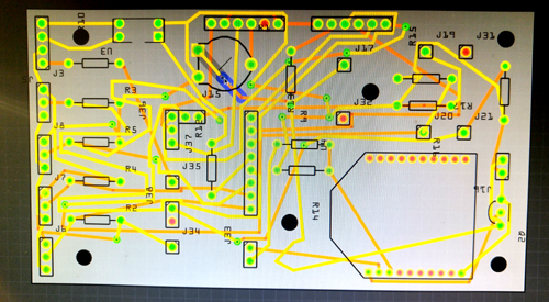 Learning to use the PCB CAD